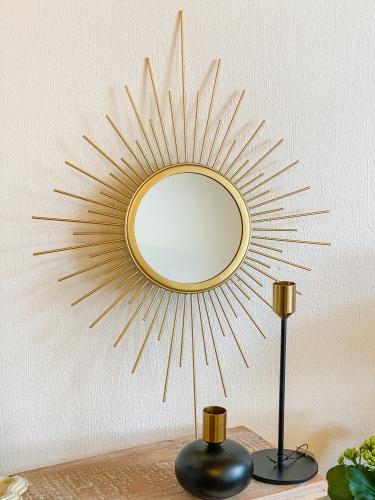 Clayre & Eef Sprossen Spiegel Gold