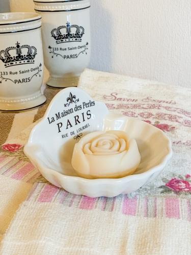 Seifenschale Muschelform Paris