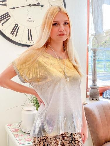XUNA Shirt Gold - Silber