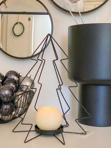 LIGHT & LIVING Kerzenhalter Weihnachtsbaum
